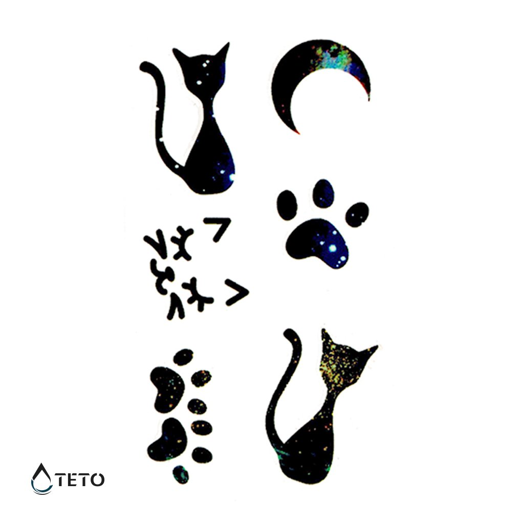 Kočky a tlapky - set