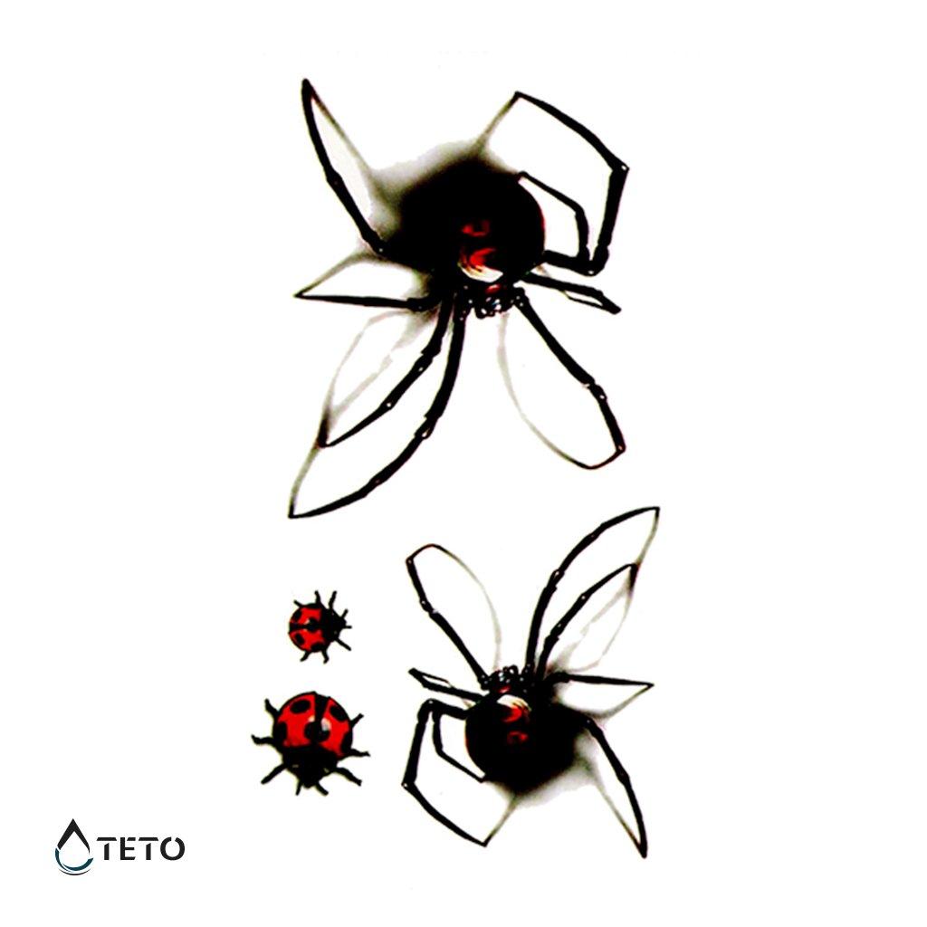 Pavouci 3D - set pavouků