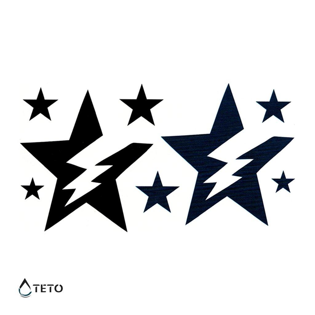 Hvězdy s bleskem – set