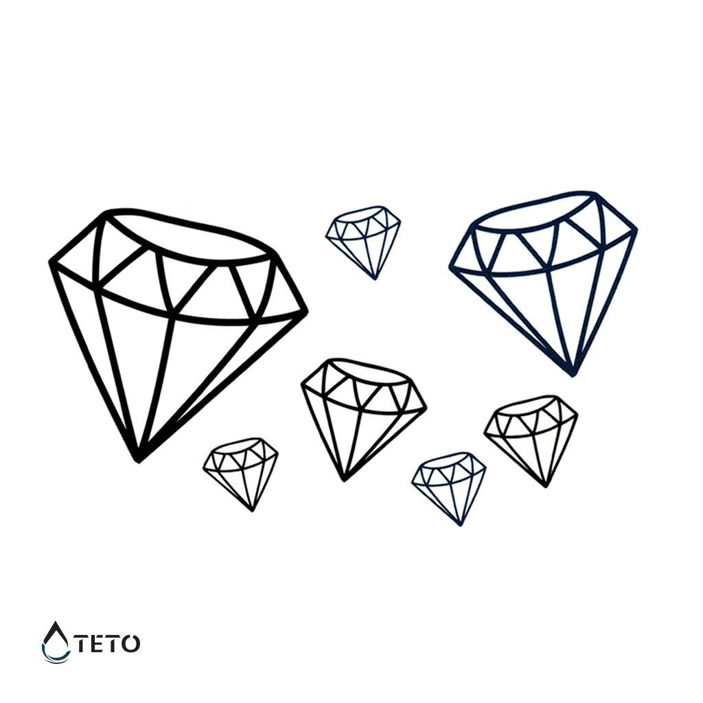 Diamanty - set