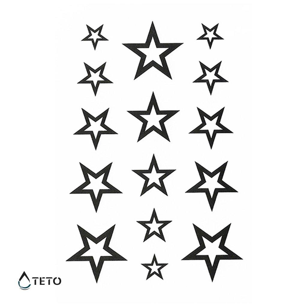 Hvězdy - set