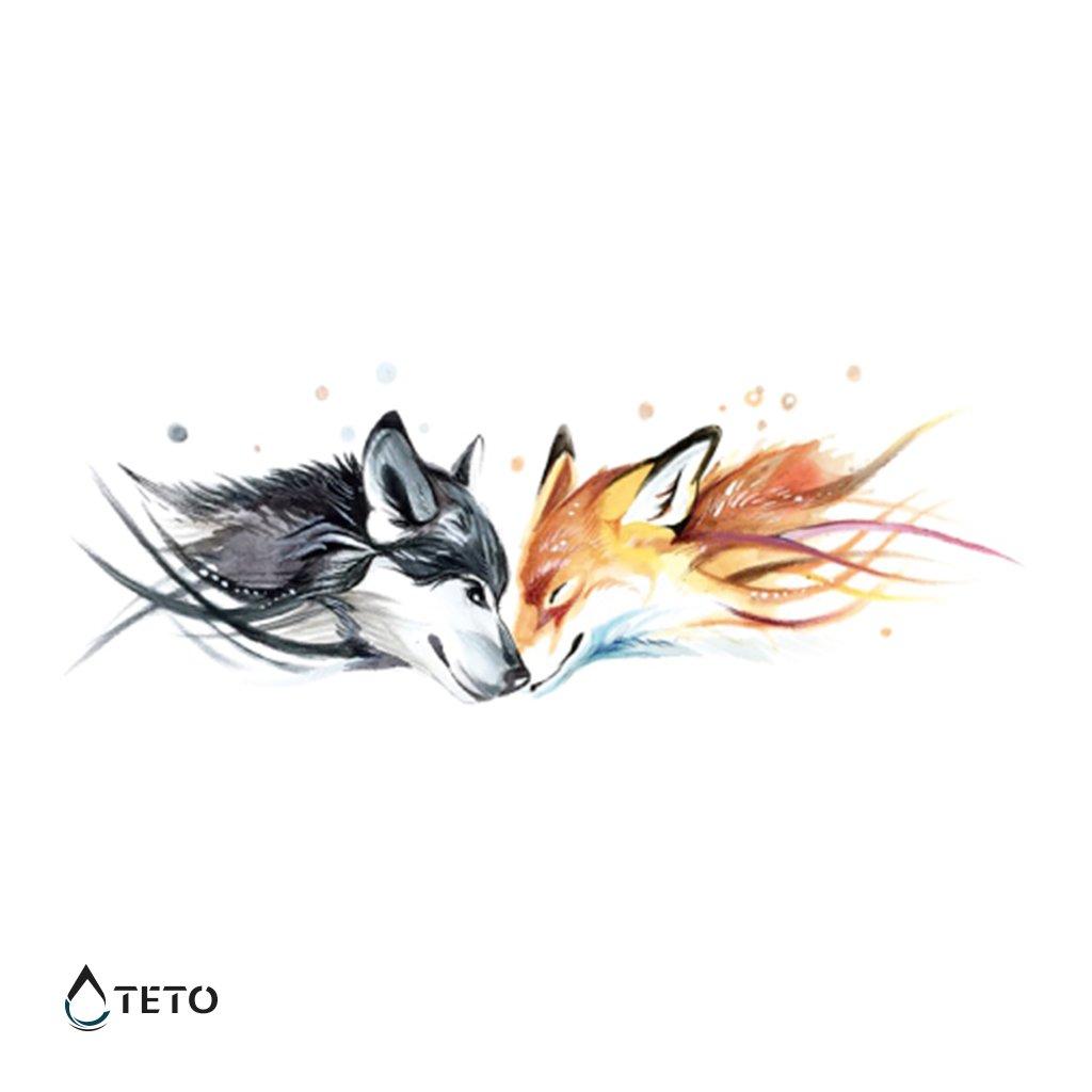 Vlk a liška