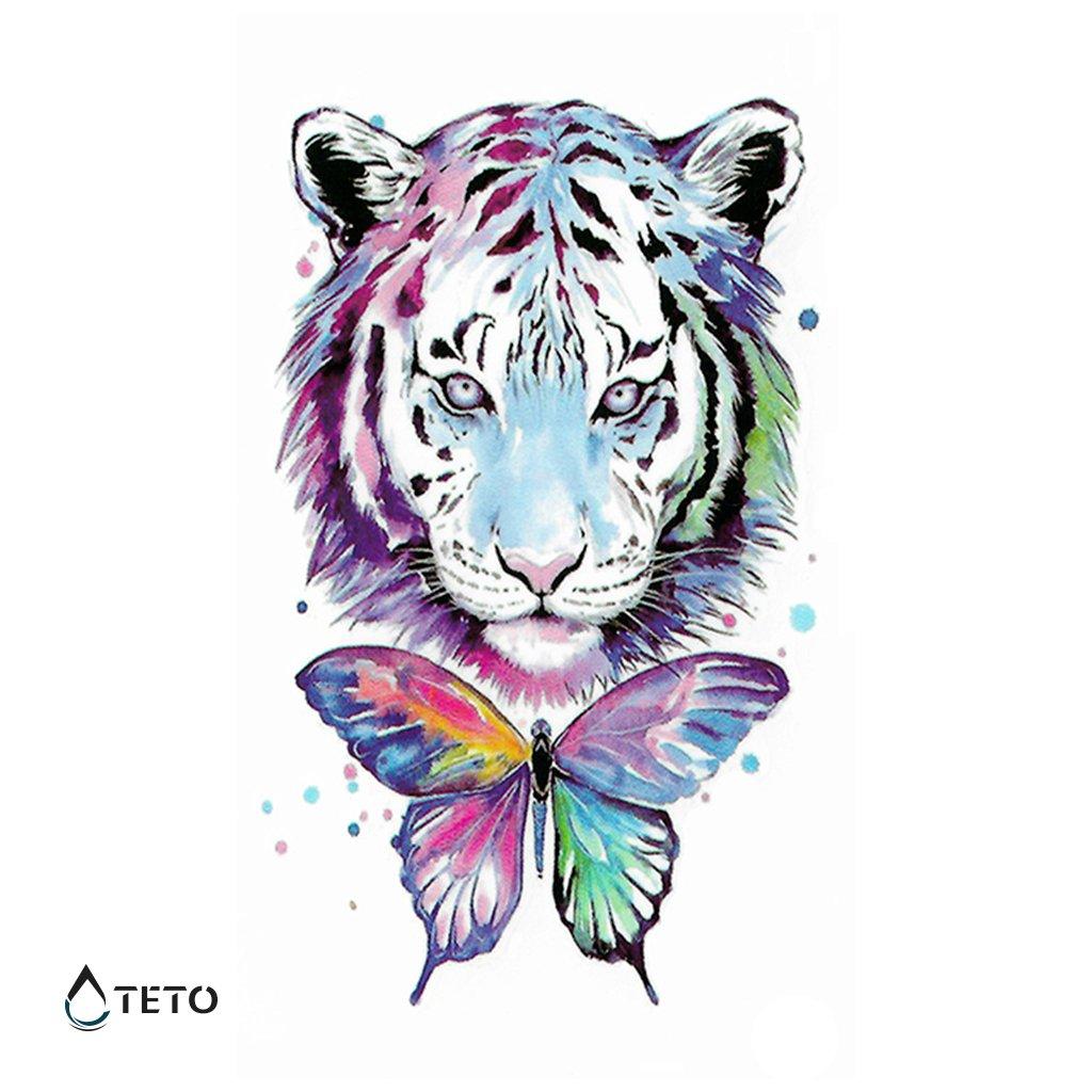 Tygr s motýlem
