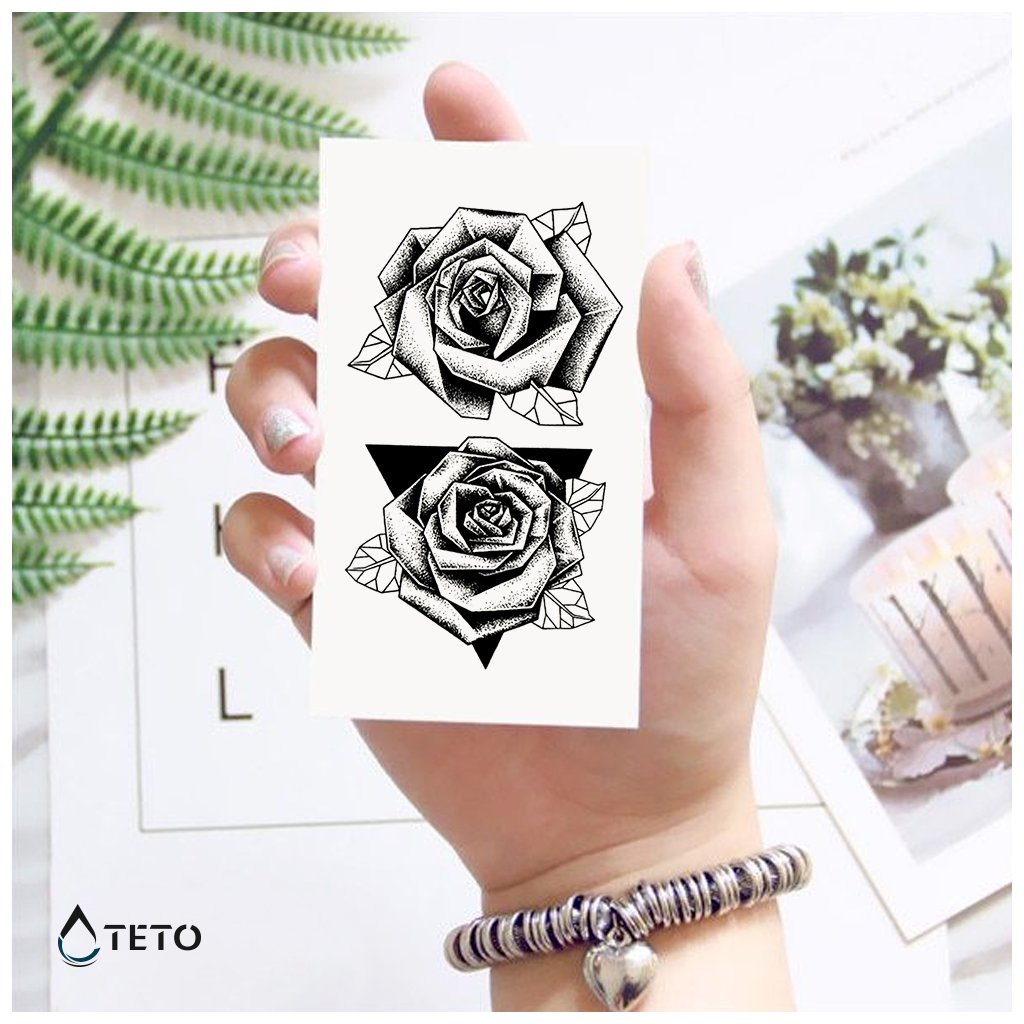 Růže v trojúhelníku - set