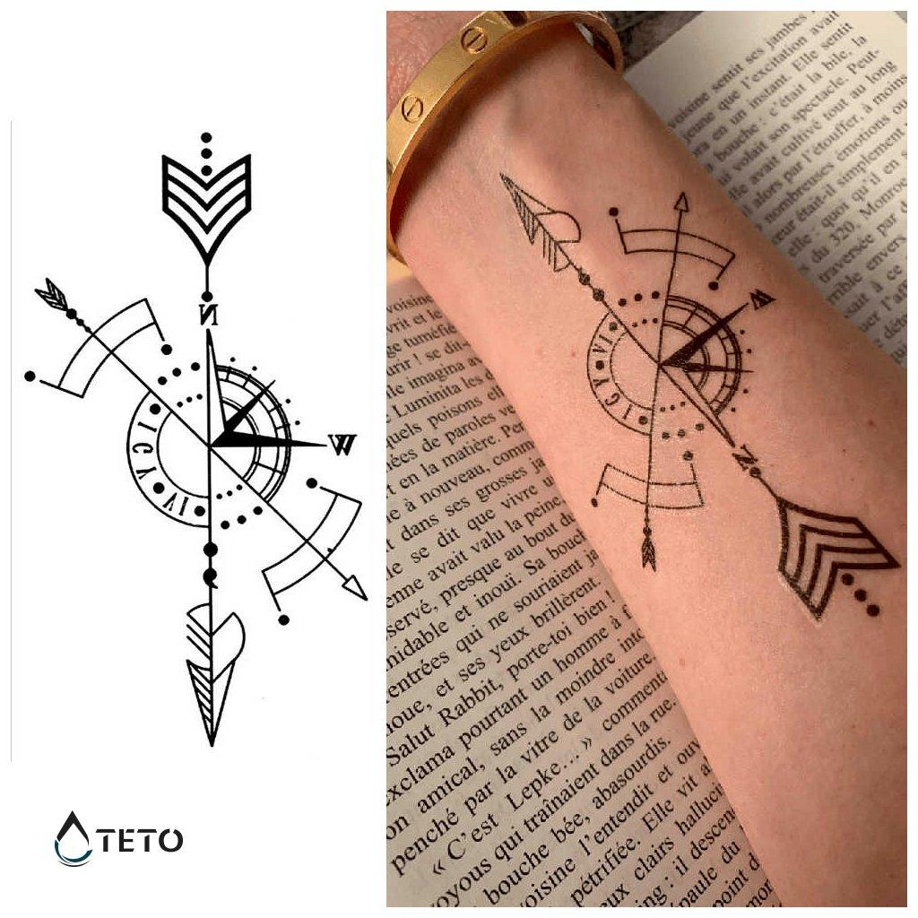 Šipka - kompas