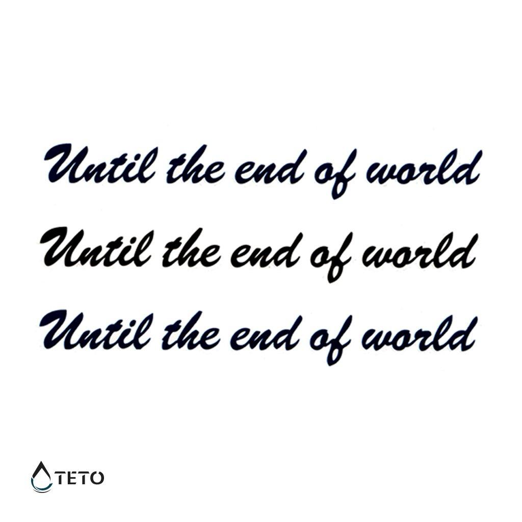 Až do konce světa - set