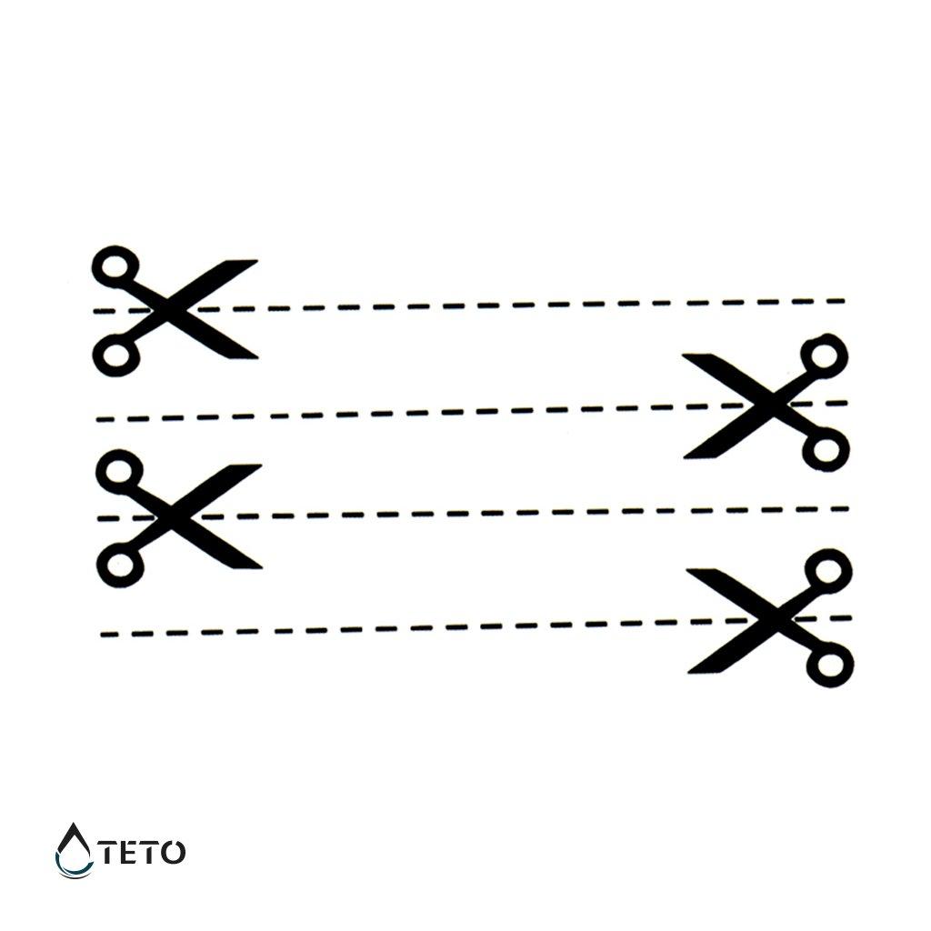 Nůžky – linka – set