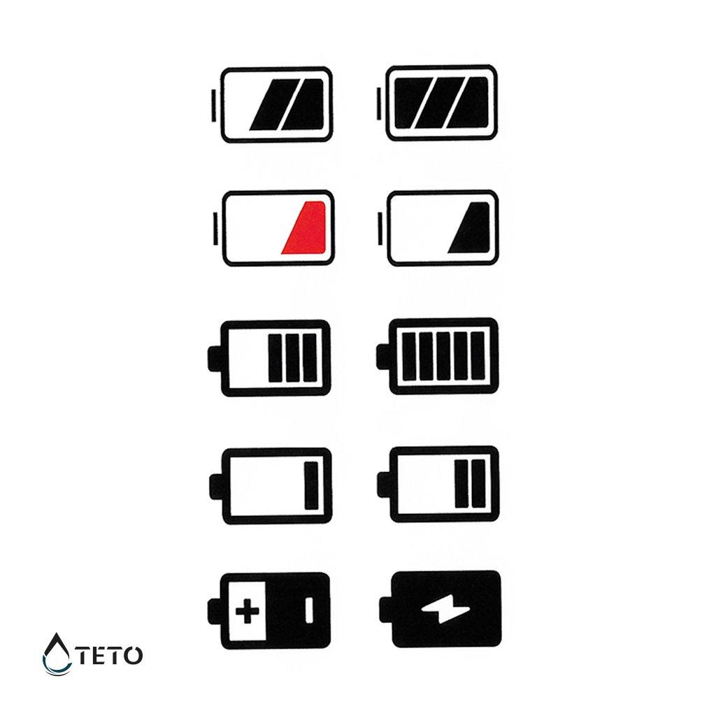Baterie – set
