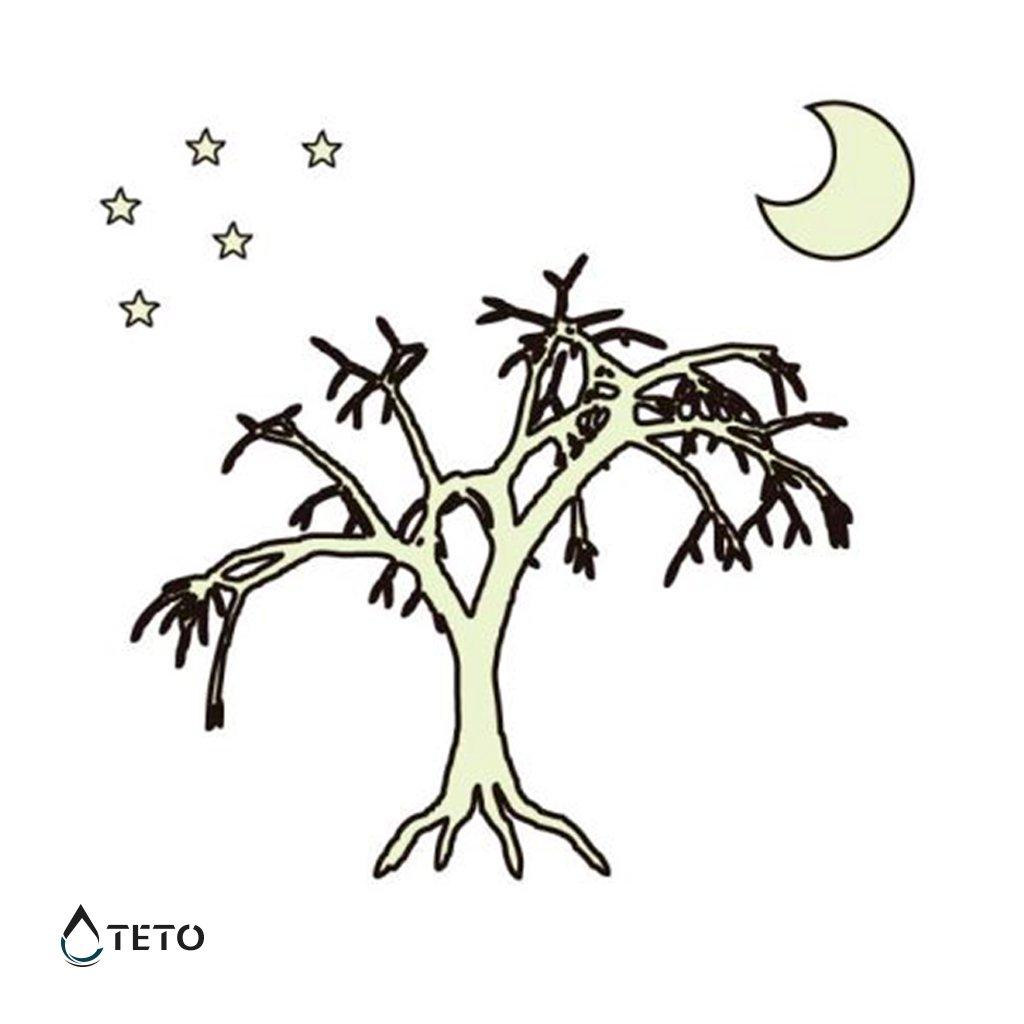 Strom - svítící