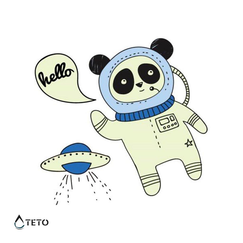 Astronaut - svítící