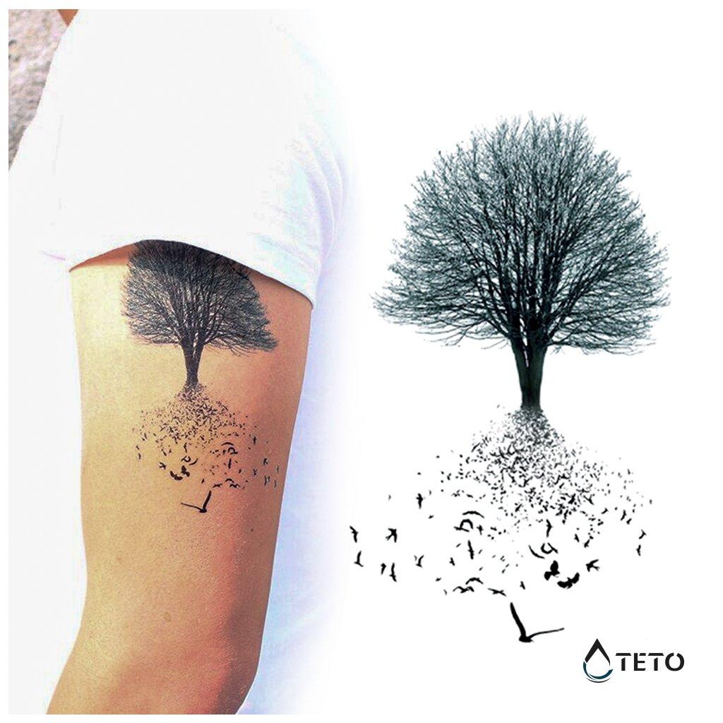Strom života s ptáky