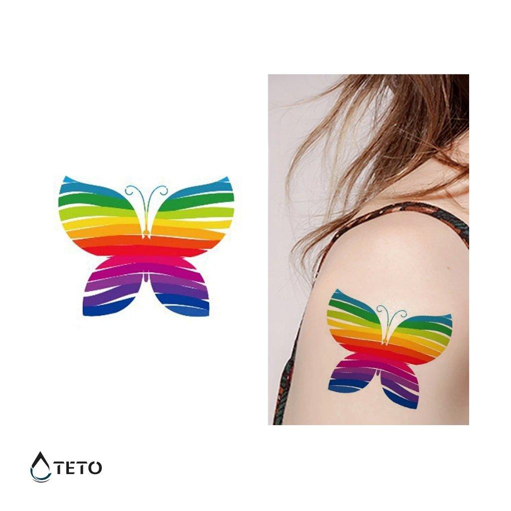 Motýl - Duha