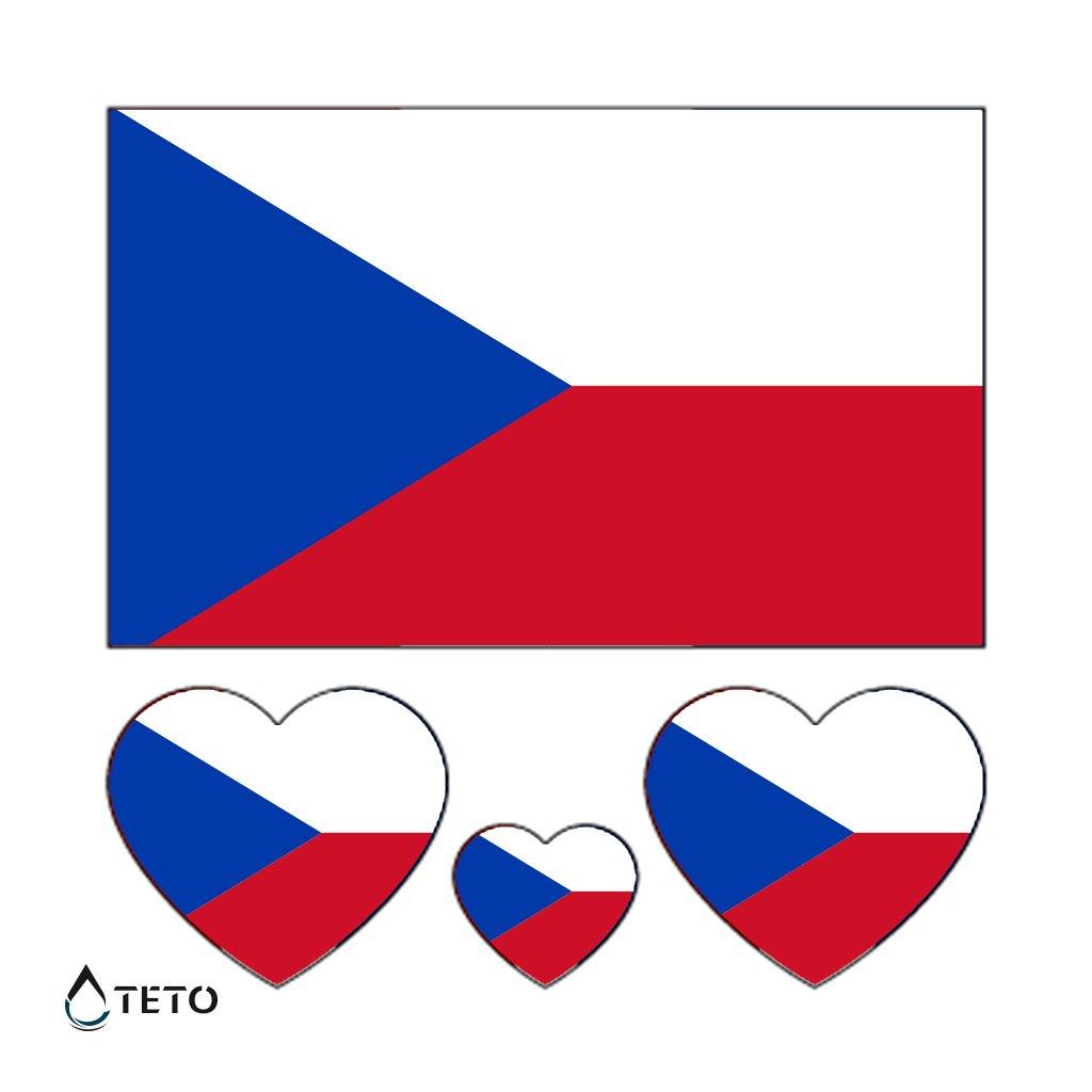Vlajka Česká republika - set