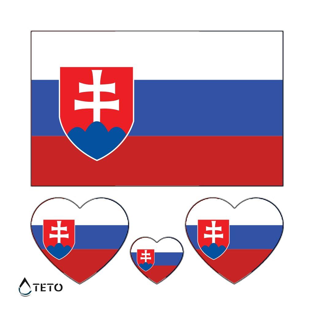 Vlajka Slovensko - set
