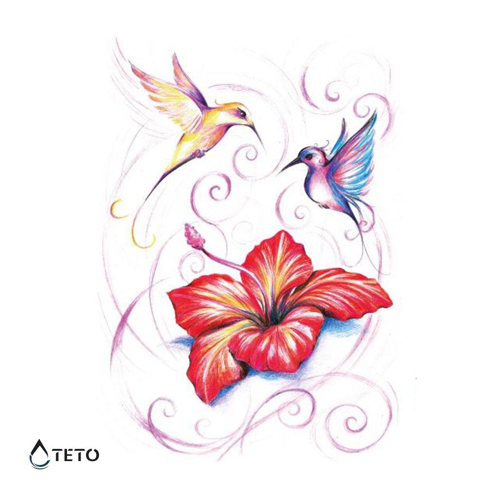 Jednorožec s květinou