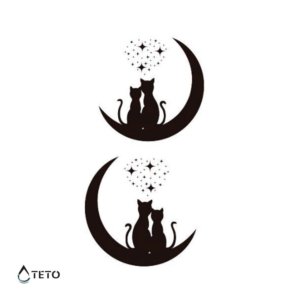 Kočky na Měsíci - set