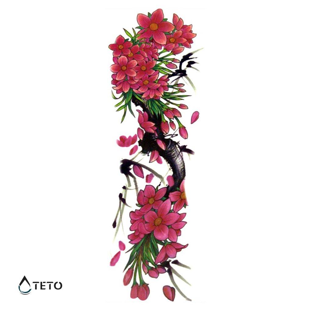 Květiny - rukáv