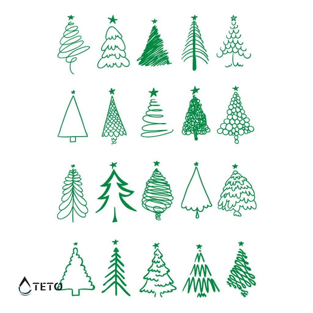 Vánoční motivy - Stromky