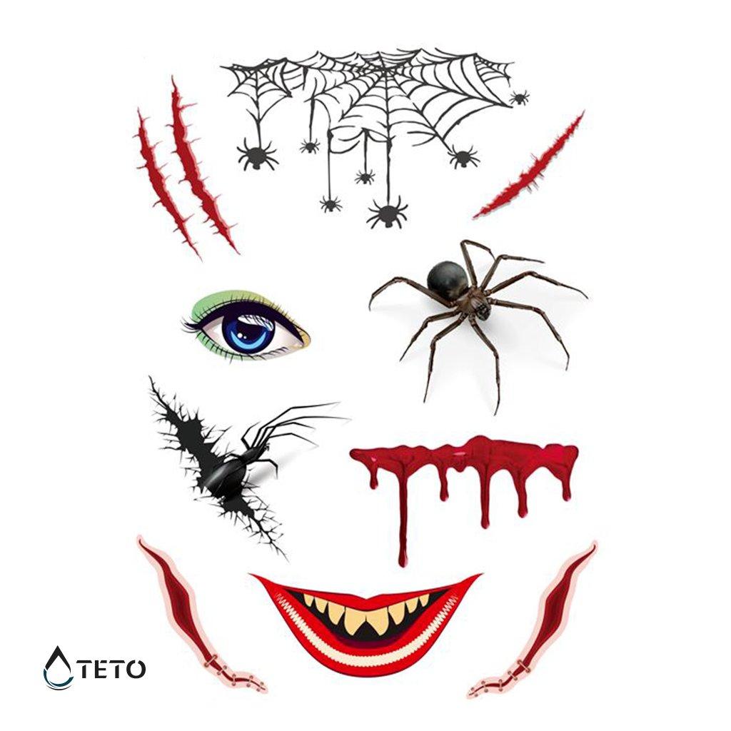 Obličej z pavouků