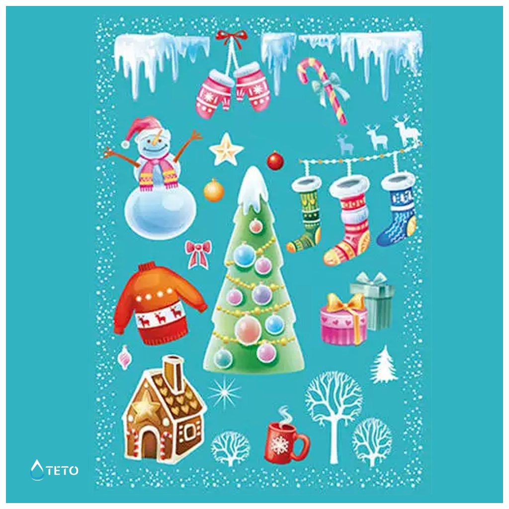 Vánoční motivy - set