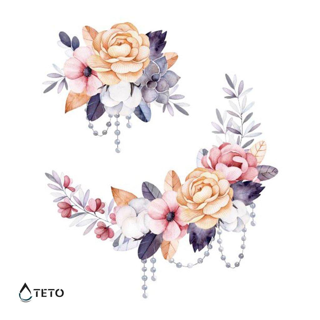 Květiny - set