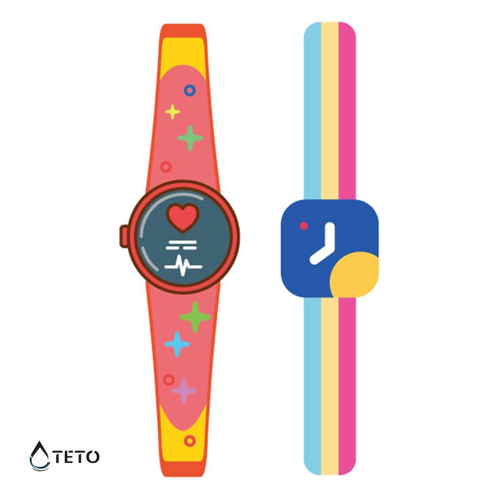 Chytré hodinky - set