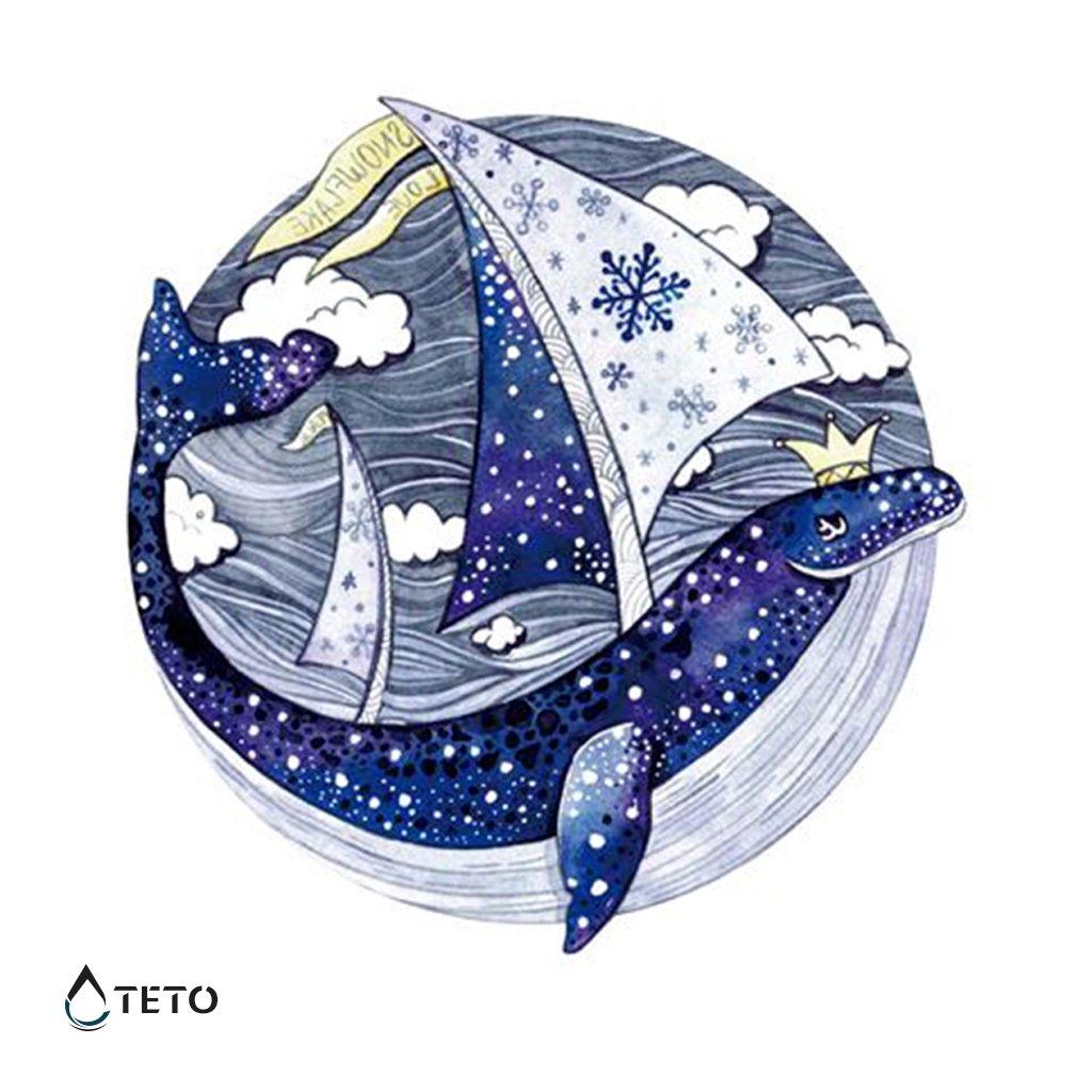 Delfín na moři