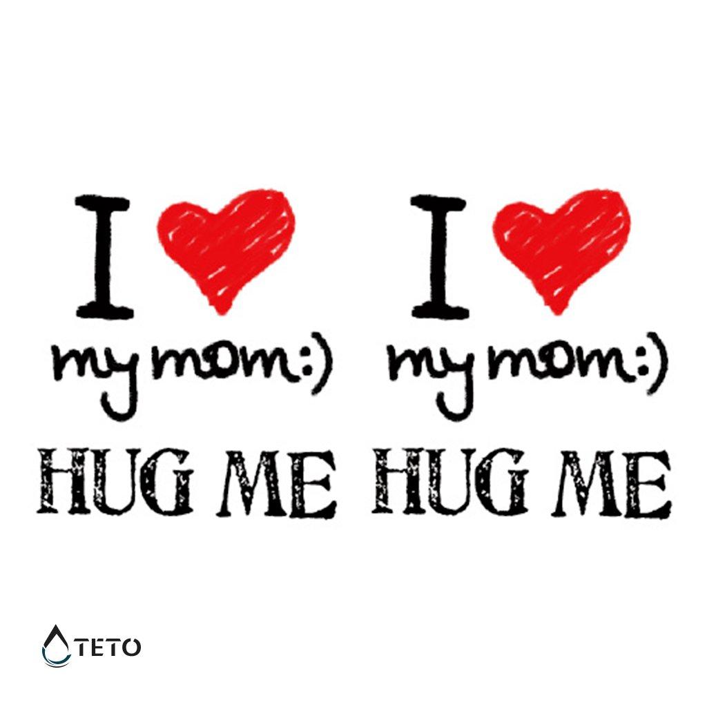 Obejmi mě a miluji svoji mámu - set