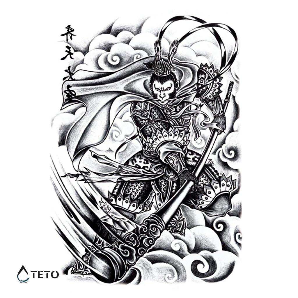 Válečník – Celá záda