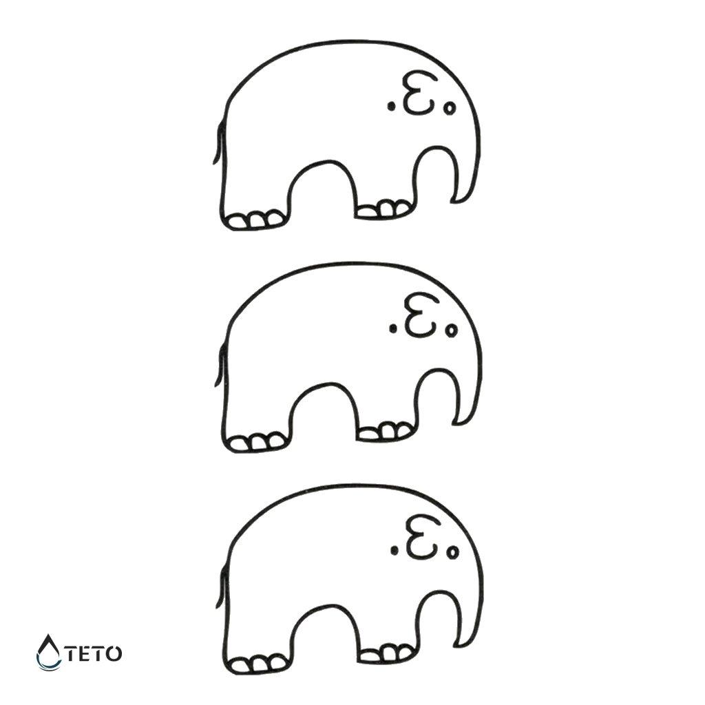 Sloni - set