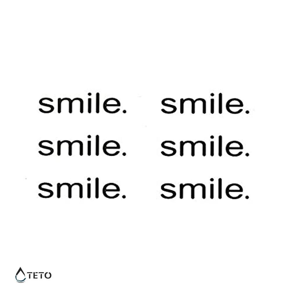 Smile - úsměv