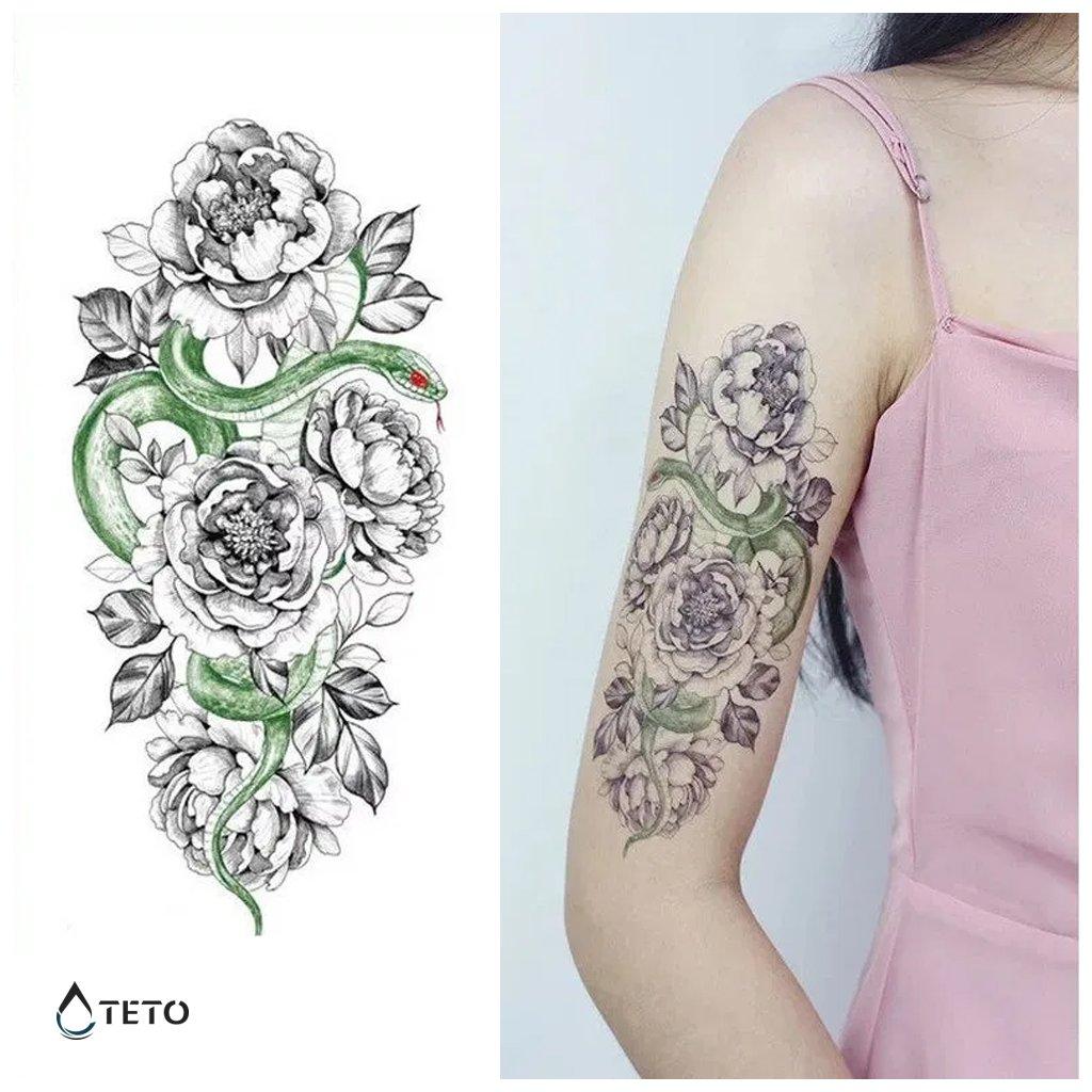 Had a květy