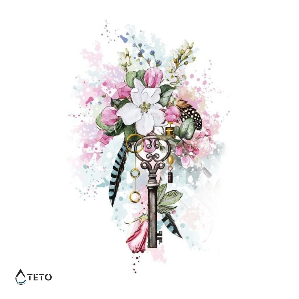 Květiny s klíčem