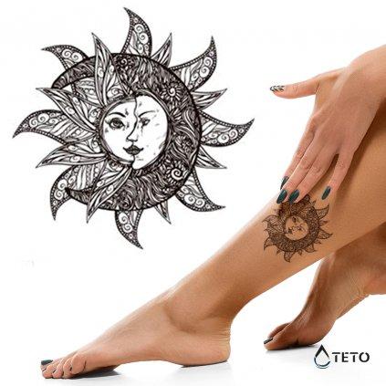 Slunce - Měsíc