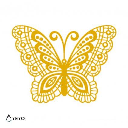 Motýl - Metalické