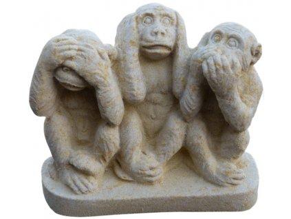 opice sedící III