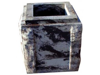 blok FINAL - UNI  tesaný trojstranný s osazením - koncový