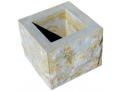 blok MAX tesaný čtyřstranný bez osazení