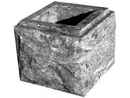 blok MAX tesaný čtyřstranný s osazením