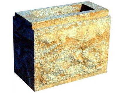 blok IDEAL - MINI dvoustranný s osazením - průběžný (2D; 0K)