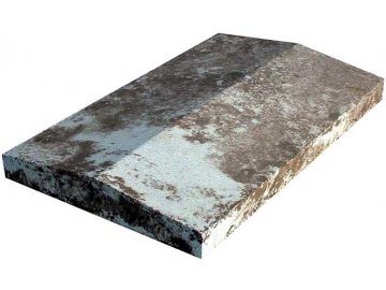hlavice sedlová hladká (na bloky OPTIMAL)