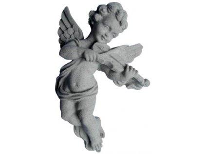 andílek hudebník - housle