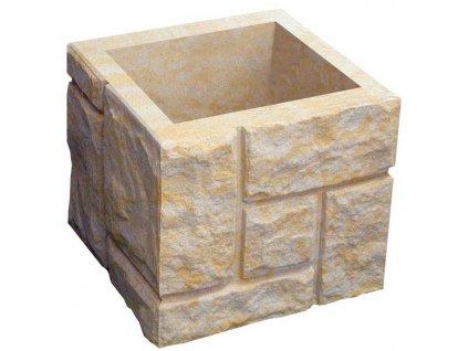 blok sloupkový HAKLÍK  tesaný čtyřstranný bez osazení