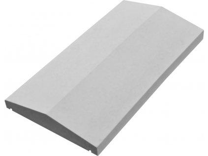 Hlavice podezdívková P4h - hladký povrch