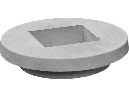 Redukce do komínové desky pro rozměr průduchu 150x150 mm