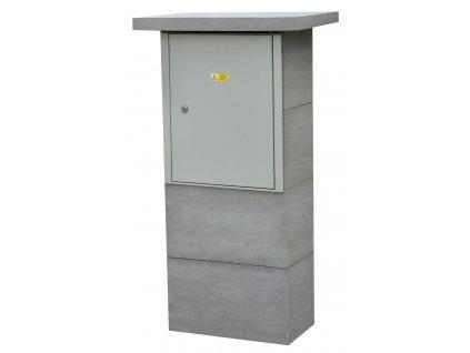 Přístřešek pro typizovaný rozvaděč (betonový)
