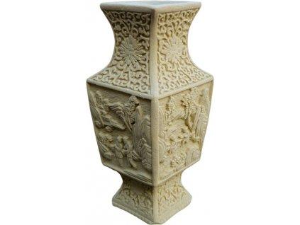 váza s reliéfy
