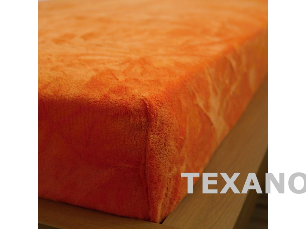 prosteradlo 180x200 mikrodovoz oranzove (1)