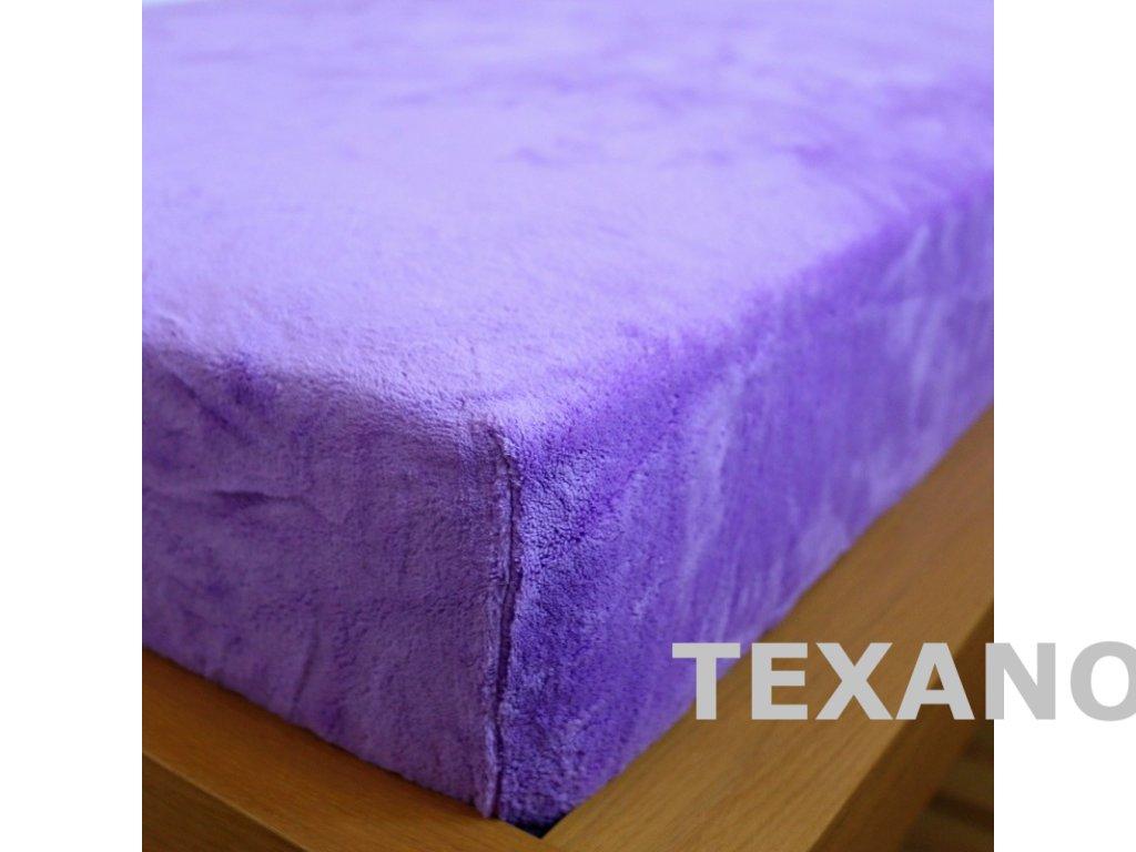 prosteradlo 180x200 mikrodovoz fialove (1)