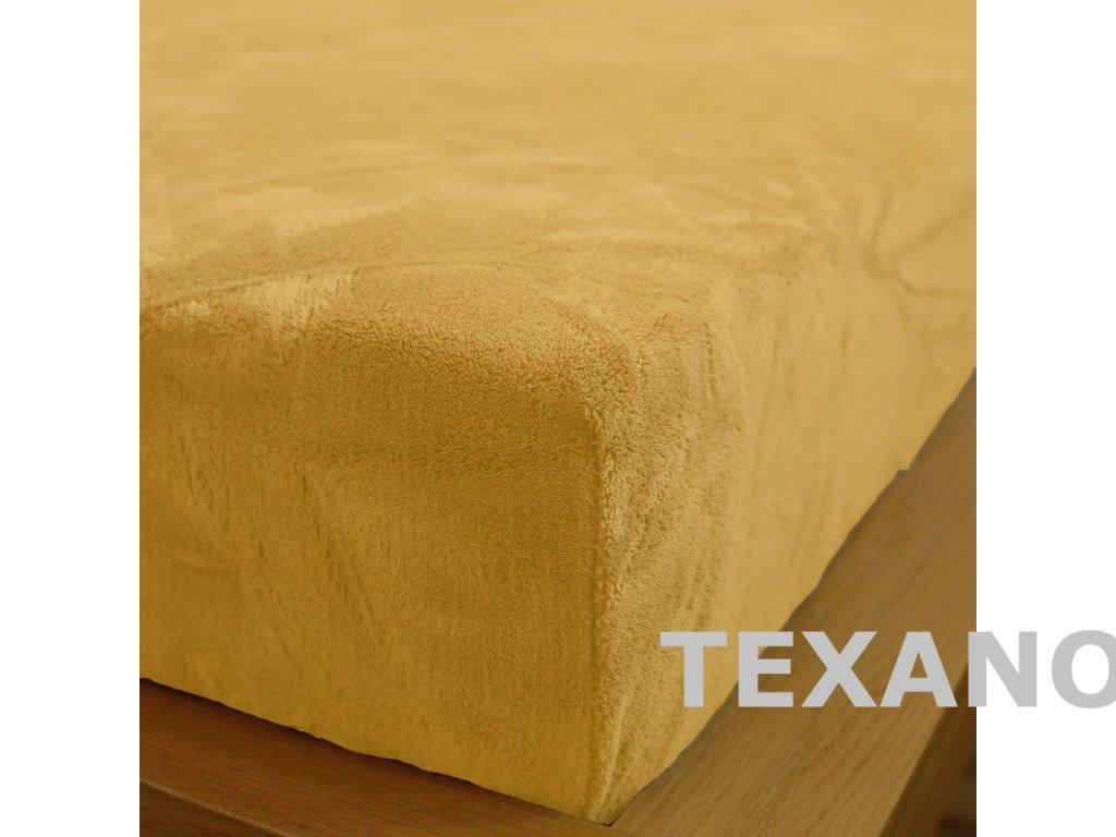 prosteradlo 180x200 mikrodovoz vanilkove (1)